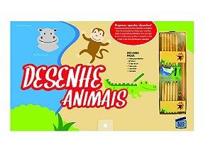 Livro Desenhe Animais