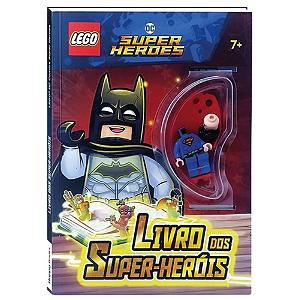 Livro dos Super-Heróis LEGO DC Super Heroes