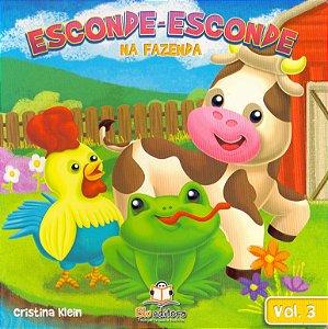 Livro Esconde-Esconde na Fazenda Volume 3