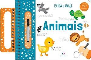 Livro Escreva e Apague - Animais