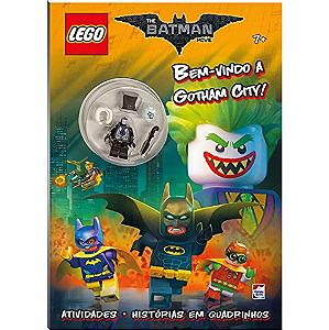 Livro Gibi LEGO Batman Movie: Bem-Vindo A Gotham City DC Super Heroes