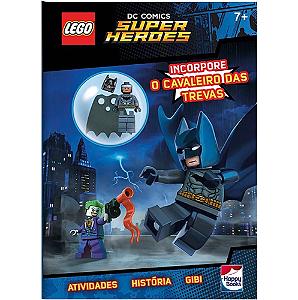 Livro Gibi LEGO Batman: Incorpore o Cavaleiro das Trevas DC Super Heroes