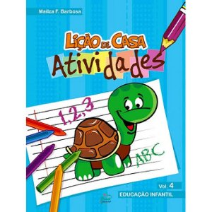 Livro Lição de Casa Atividade - Volume 4