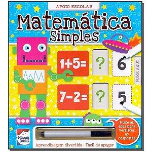Livro Matemática Simples - Aprendizagem Divertida