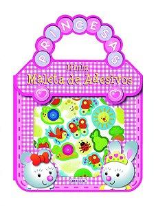 Livro Minha Maleta de Adesivos - Princesas