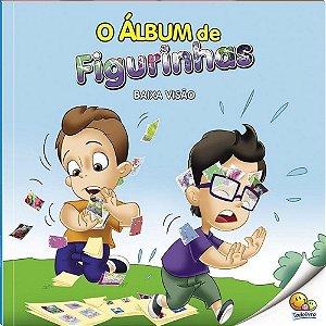 Livro O Álbum de Figurinhas Baixa Visão - Inclusão Social