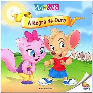 Livro Riki & Gabi A Regra de Ouro