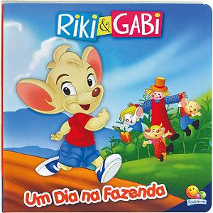 Livro Riki & Gabi Um dia na Fazenda - Um dia Especial