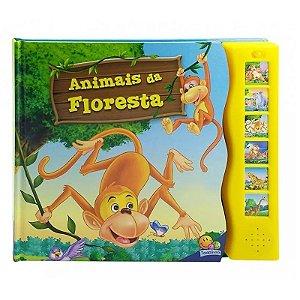 Livro Sonoro Animais da Floresta - Mundo dos Animais com Sons