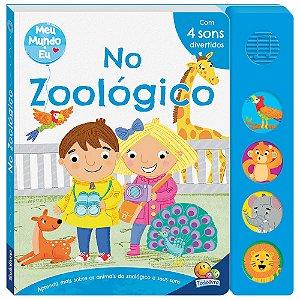 Livro Sonoro Meu Mundo e Eu - No Zoológico