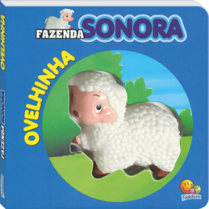 Livro Sonoro Ovelhinha - Fazenda Sonora