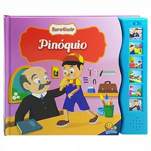Livro Sonoro Pinóquio - Ler e Ouvir