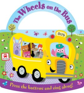 Livro Sonoro Wheels on the Bus - Carry fun