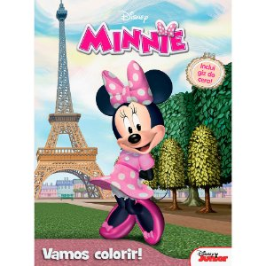 Livro Vamos Colorir Disney Minnie