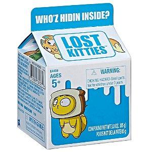 Lost Kitties 01 Mini Figura Surpresa - Caixinha de Leite