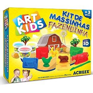 Massinha de Modelar Art Kids Fazendinha - Acrilex
