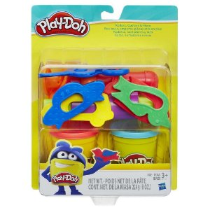 Massinha Play-Doh Kit com Rolos Cortadores - Hasbro