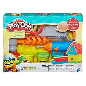 Massinha Play-Doh Kit de Construção - Hasbro