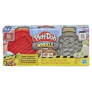 Massinha Play-Doh Wheels Massinha de Construção - Hasbro