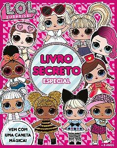 Meu Livro Secreto LOL Surprise com Caneta - Diário para Meninas