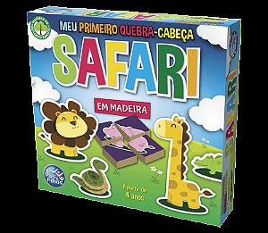 Meu primeiro Quebra-Cabeça Safari