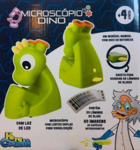 Microscópio Dino - Hora da Ciência - Dican