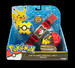 Pokémon Kit De Ação Cinto Com 2 Pokebolas E Personagem - Sunny