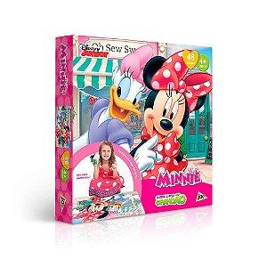 Quebra-Cabeça Grandão Minnie - 48 peças - Toyster