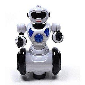 Robô de Brinquedo Dançarino 360° Polibrinq - 1038