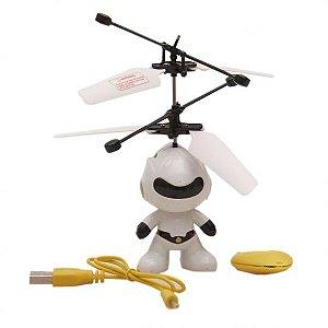 Robô de Brinquedo Voador com Infravermelho Polibrinq - 1014