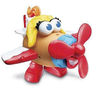 Senhora Cabeça De Batata - Avião Divertido  - Hasbro