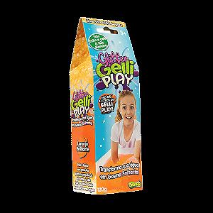 Slime Glitter Gelli Play - Transforma água em Gosma Brilhante - Sunny