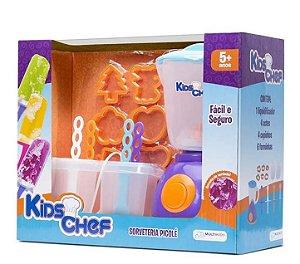 Sorveteria Picolé Kids Chef com Acessórios - Multikids