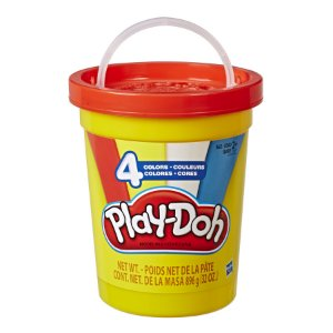 Super Pote de Massa para Modelar Play-Doh Cores Clássicas -Hasbro