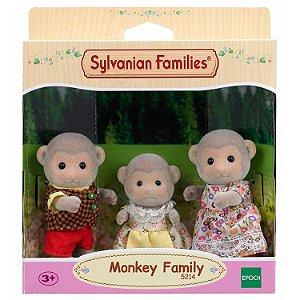 Sylvanian Families Família dos Macacos Noz - Epoche Magia 5214
