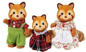 Sylvanian Families Pandas Vermelho 5215