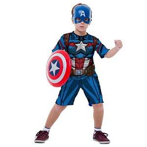 Fantasia Capitão América com Escudo