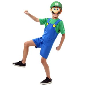 Fantasia Luigi do Super Mario Bros