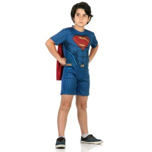 Fantasia Super Homem Curto