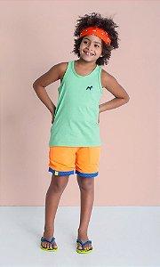 Camiseta Básica Regata Verde Claro - Oliver