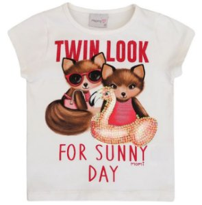 Camiseta Infantil Twin Look - Momi