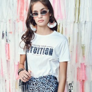 Camiseta Mullet Off White Follow Your - Authoria