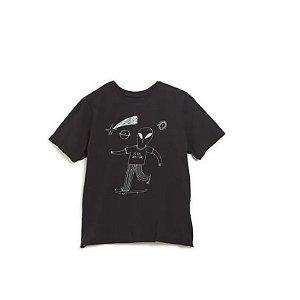 Camiseta Silk Alien Skatista - Bento