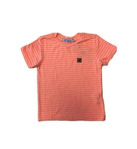 Camiseta T-shirt Mini Listrada Neon - Oliver
