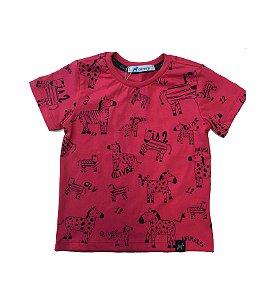 Camiseta Zebra Pink - Oliver