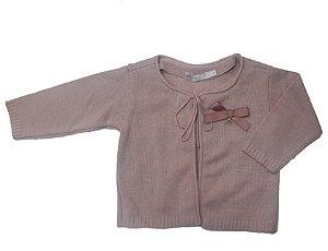 Casaquinho de Bebê Linha Rosa - roana