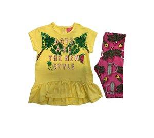Conjunto Blusa e Legging New Style - Momi