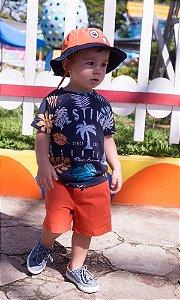 Conjunto T-shirt e Bermuda Festival Summer - Oliver