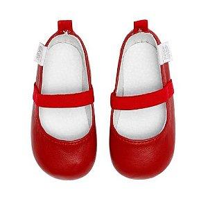 Sapatilha Infantil Babu Uabu Clássica - Vermelho