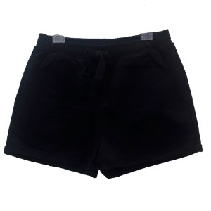 Shorts Infantil Feminino Authoria Moletinho - Preto